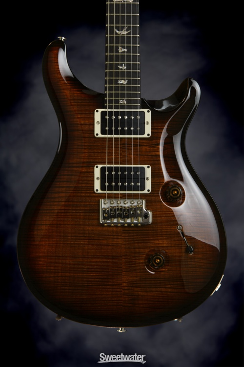 Stain Maple Black Stained Figured Maple Neck