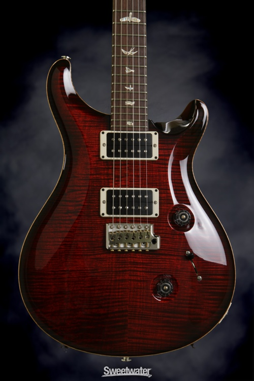 PRS Custom 24 (10-Top Fire Red Burst, Pat-Reg)