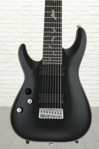 Schecter Damien Platinum 8 Left-handed - Satin Black