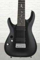 Schecter Damien Platinum 8 - Satin Black, Lefty