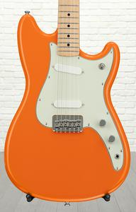 Fender Duo-Sonic - Capri Orange with Maple Fingerboard