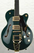 Gretsch G6655TG Players Edition Broadkaster Jr. Center Block - Cadillac Green, Bigsby Tailpiece