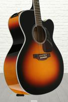 Takamine GJ72CE - Brown Sunburst