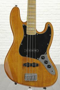 Squier '77 Vintage Modified Jazz Bass - Amber