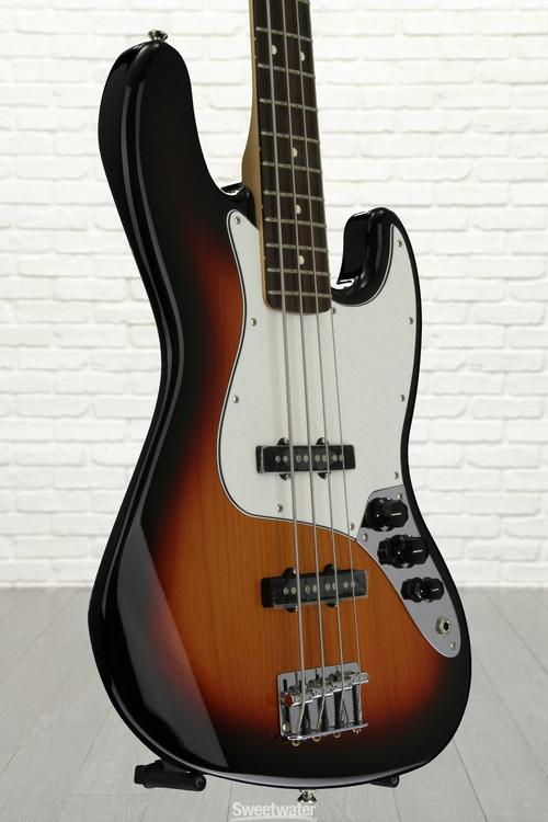 Fender Standard Jazz Bass - Brown Sunburst with Rosewood Fingerboard, Serial: MX16771790
