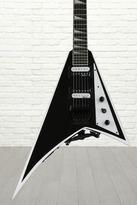 Jackson JS32 Rhoads - Black with White Bevels