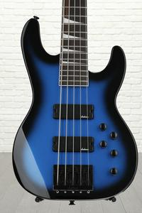 Jackson JS3V Concert Bass - Metallic Blue Burst