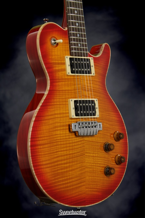 Line 6 JTV-59 USA (Cherry Sunburst 1A Flame Top), Serial: 120817