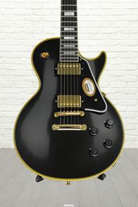 "Gibson Custom True Historic 1957 Les Paul Custom ""Black Beauty"" - Vintage Ebony"