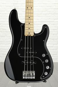 Fender American Elite Precision Bass - Black, Maple Fingerboard