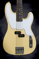 Fender Mike Dirnt Precision Bass (White)