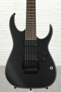 Ibanez RGIR37BFE Iron Label 7-String w/Tremolo - Black Flat