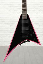 Jackson RRXMG X Series Rhoads - Black with Pink Bevels