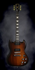 Gibson SG Tribute 50's with Min-ETune (2013, Vintage Sunburst)