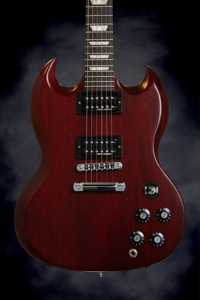 Gibson SG Tribute 70's with Min-ETune (2013, Heritage Cherry)