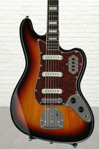 Squier Vintage Modified Bass VI - 3-Color Sunburst