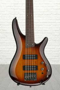 Ibanez SR375E SR Standard Fretless 5-String - Brown Burst