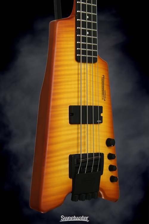 Steinberger XS-1FPA Custom (Transparent Amber), Serial: 1009212187