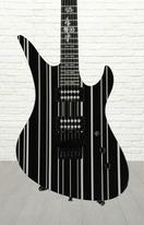 Schecter Synyster Gates Custom - SYN Black w/Silver Stripes