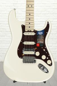 Fender American Elite Stratocaster HSS Shawbucker - Olympic Pearl with Maple Fingerboard