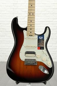 Fender American Elite Stratocaster HSS Shawbucker - 3-color Sunburst with Maple Fingerboard