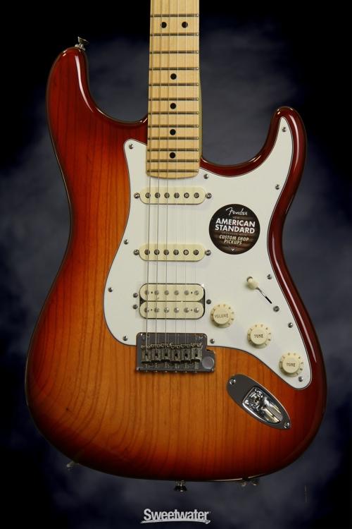 Fender American Standard Stratocaster Hss Sienna