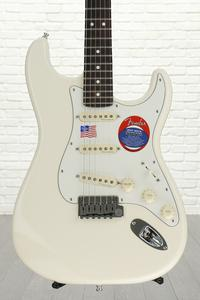 Fender Jeff Beck Stratocaster - Olympic White with Rosewood Fingerboard