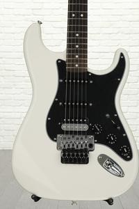 Fender Standard Stratocaster HSS with Floyd Rose - Olympic White with Rosewood Fingerboard
