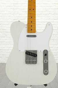 Fender Classic Series '50s Telecaster, Lacquer - White Blonde, Maple fingerboard