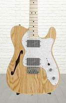 Fender Classic Series '72 Telecaster Thinline - Natural, Maple fingerboard