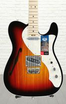 Fender American Elite Telecaster Thinline - 3-color Sunburst with Maple Fingerboard
