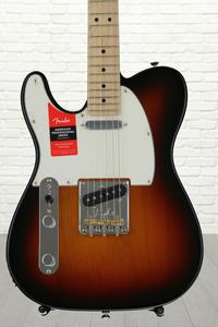 Fender American Professional Telecaster, Left-handed - 3-color Sunburst with Maple Fingerboard