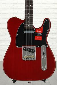 Fender American Professional Telecaster - Crimson Transparent with Rosewood Fingerboard
