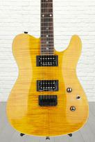 Fender Custom Telecaster FMT HH - Amber with Rosewood Fingerboard