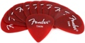 Fender Accessories California Clears Pickpack - Thin (Candy Apple Red)