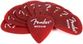 Fender Accessories California Clears Pickpack - Medium (Candy Apple Red)