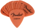 Fender Accessories 351 Rock-On Touring Guitar Picks 12-Pack (Orange - Thin/Medium .60mm)