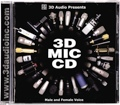 3D Audio 3D Mic CD