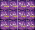 Elixir Strings Polyweb 80/20 Bronze Acoustic Guitar Strings (.011-.052 12-Pack)