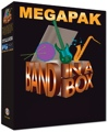 PG Music Band-in-a-Box MegaPAK for Mac 5-User Lab Pack