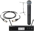 Shure BLX24R/Beta58 Mic Month 2013 Bundle (WIth Stand & Cable)