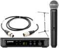 Shure BLX24/SM58 Mic Month 2013 Bundle (WIth Stand & Cable)