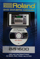 Boss BR-1600 DVD Owner's Manual