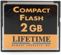 Lifetime Memory CompactFlash Card (2 GB)