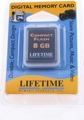 Lifetime Memory CompactFlash Card (8 GB)