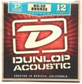 Dunlop DAB1254 80/20 Bronze Acoustic Strings (.012-.054 - Light)
