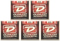Dunlop DAB1356 80/20 Bronze Acoustic Strings (.013-.056 - 5 Pack)