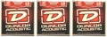 Dunlop DAP1356 Phosphore Bronze Acoustic Strings (.013-.056 - 3 Pack)