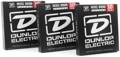 Dunlop DEN1046 Nickel Plated Steel Electric Strings (.010-.046 - 3 Pack)