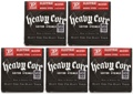 Dunlop DHCN1150 Heavy Core NPS Electric Strings (.011-.050 - 5 Pack)
